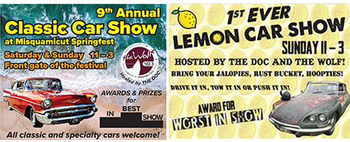 Springfest 2019- Car Show & Lemon Show
